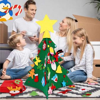 DIY Christmas Felt Tree