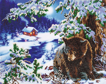 Rambling Bear  Diamond Painting Kit