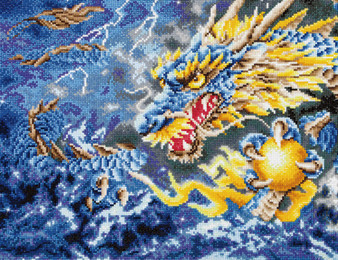 Mythical Dragon Diamond Painting Kit