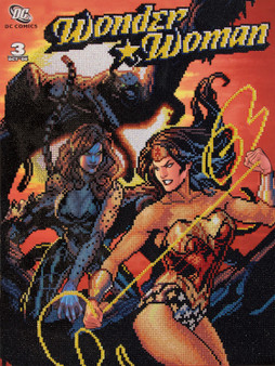 Wonder Woman VS Cheetah Diamond Painting Kit