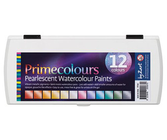 Pearlescent Watercolour Paints
