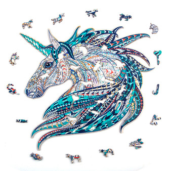 Dream Unicorn Wooden Puzzles