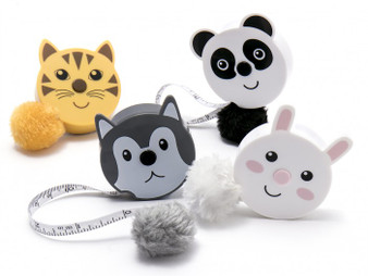Generic Fluffy Tail Tape Measures - Met Zoo