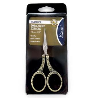 Klasse Scissors Gold Ornate Handle