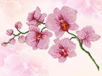 Orchid Spray Diamond Dotz Diamond Painting