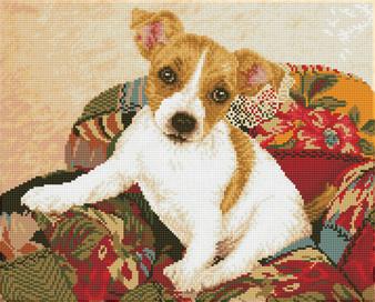 Patchwork Pup Diamond Dotz Diamond Painting Kit
