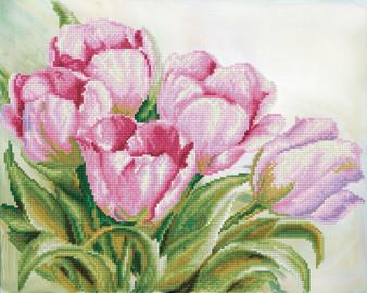 Tulip Swathe Diamond Dotz Diamond Painting Kit