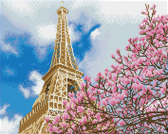 La tour Eiffel Diamond Dotz Diamond Painting Kit