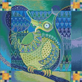 Indian Owl Diamond Dotz Diamond Painting Kit