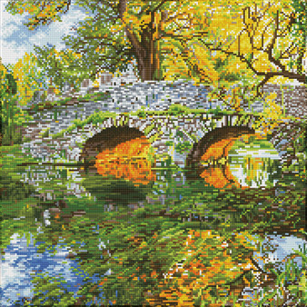 Country Bridge Diamond Dotz Diamond Painting Kit