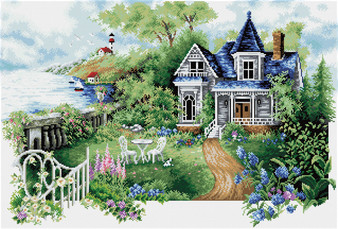 Summer Hideaway Diamond Dotz Diamond Painting Kit