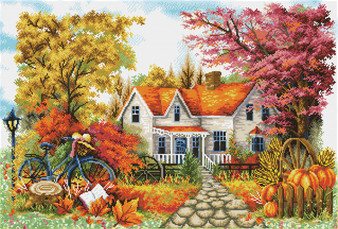 Autumn Days Diamond Dotz Diamond Painting Kit