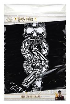 Death Eater Harry Potter Velvet Poster Art