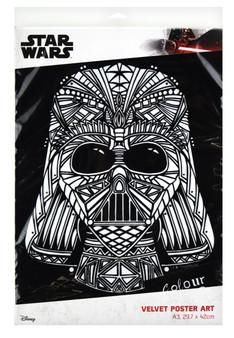 Darth Vader A3 Size Velvet Poster Art