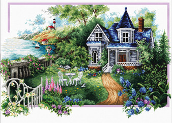 Summer Comes No Count Cross Stitch