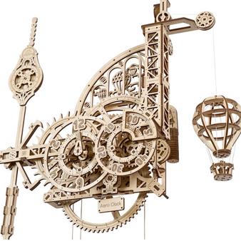 Ugears Aero Clock Mechanical Model