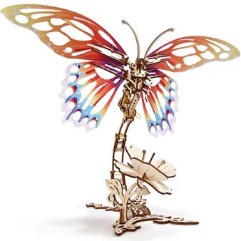 Ugears Butterfly Mechanical Model