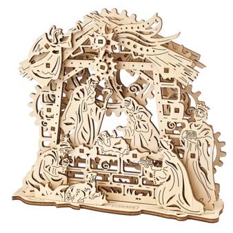 Ugears Nativity Scene Mechanical Model