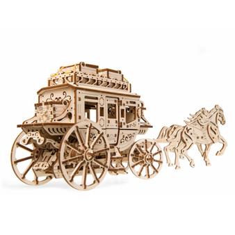 UGears Stagecoach Mechanical Model