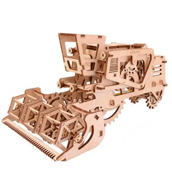 UGears Combine Harvester Mechanical Model