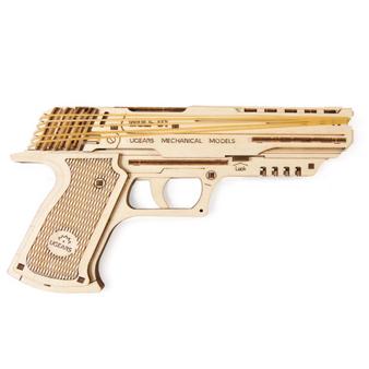 Rubberband Handgun Mechanical Model