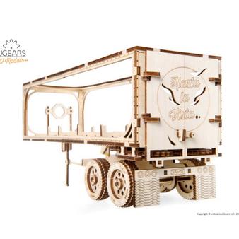 Ugears Trailer for Heavy Boy Truck Mechanical Model