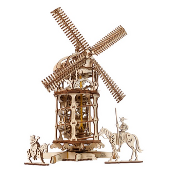 Ugears Tower Windmill Mechanical Model
