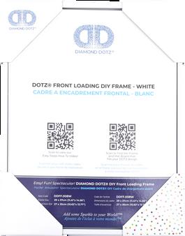 DDFF.008W Diamond Dotz Front Loading Frame