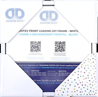 DDFF.011W Diamond Dotz Front Loading Frame