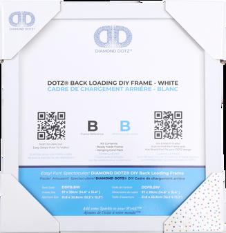 DDFB.B Diamond Dotz Back Loading Frame