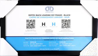 DDFB.HB Diamond Dotz Back Loading Frame