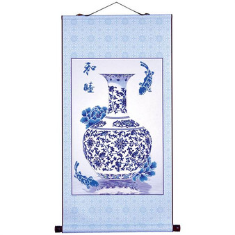 Oriental Blessing Peace Scroll Kit
