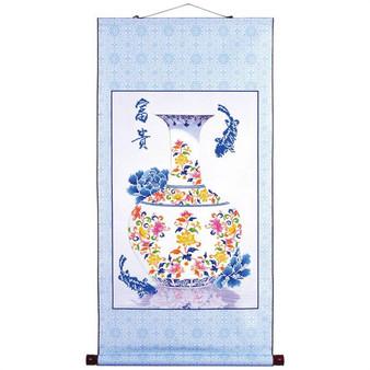 Oriental Blessing Prosperity Scroll Diamond Dotz Diamond Painting Kit