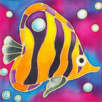 Angel Fish Batik Painting Kit
