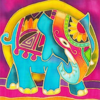 Elephant Batik Painting Kit