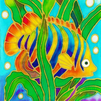 Stevo Fish Batik Painting Kit
