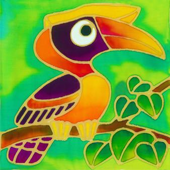 Hornbill batik Painting Kit