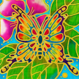 Buttercup Butterfly Batik Painting Kit
