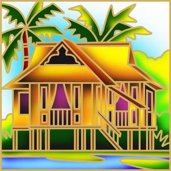 Sweet Home Batik Painting Kit