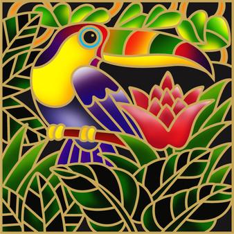 Big Birdy Batik Painting Kit