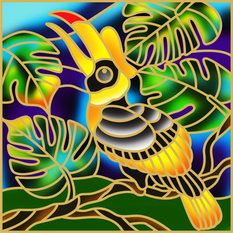 Squawky Batik Painting Kit