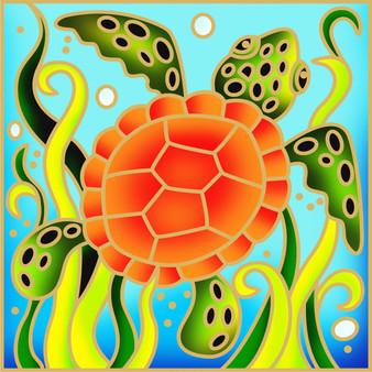 Turty Turtle Batik Painting Kit