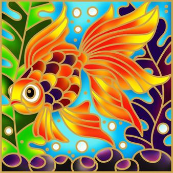 Goldie Goldfish Batik Painting Kit
