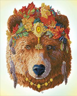 Bohemian Bear Diamond Dotz Diamond Painting Kit