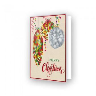Diamond Dotz Merry Christmas Baubles Traditional