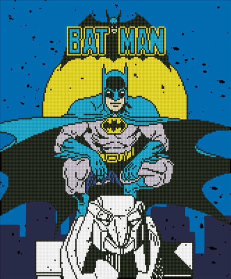 Batman Diamond Painting Kit