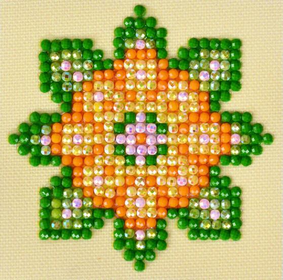 Flower Mandala 1 Diamond Painting Starter Kit