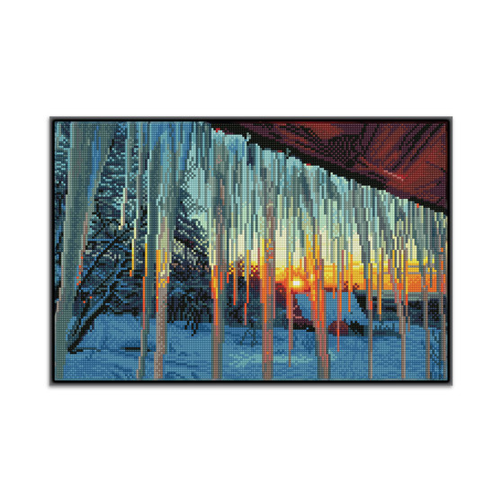 Frosty Morn Pre-Framed Diamond Dotz® Square Diamond Painting Kit