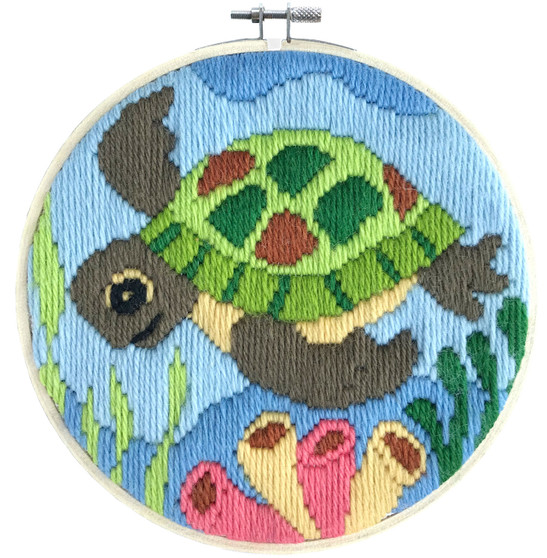 Ocean Baby Long Stitch Kit