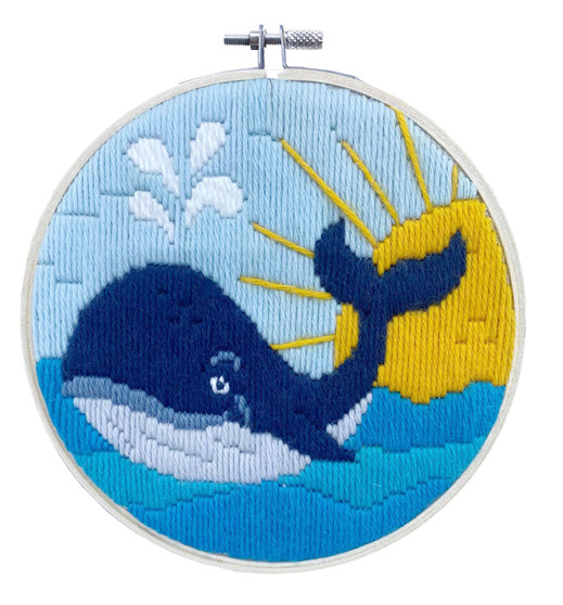 Whale Song Long Stitch Kit